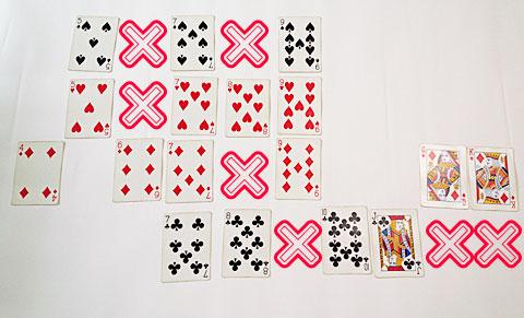 殺しの7並べのルールと遊び方