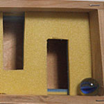100均グッズで出来る筆箱サイズの『ビー玉転がし迷路』の作り方